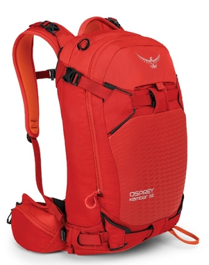Рюкзак спортивный Osprey Kamber 32 л Ripcord Red S/M