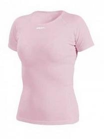 Термофутболка женская Craft PC Wn tee mesh розовая