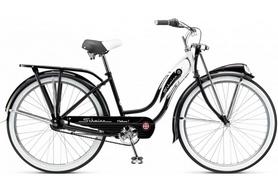 "Велосипед городской женский Schwinn Classic Deluxe 7 thru step frame 2015 black, рама - 26"""