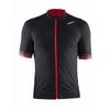 Велофутболка мужская Craft Puncheur Jersey M черный с красным - фото 1