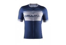 Велофутболка мужская Craft Classic Logo Jersey синяя