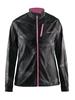 Куртка женская Craft Devotion Jacket W черная с розовым - фото 1