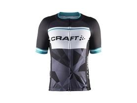 Велофутболка мужская Craft Classic Logo Jersey черная