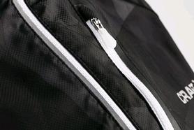 Куртка женская Craft Devotion Jacket W черная с белым - Фото №3