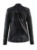 Куртка женская Craft Devotion Jacket W черная с белым - Фото №2