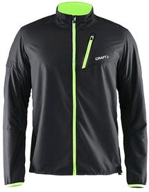 Куртка мужская Craft Devotion Jacket M черный с зеленым