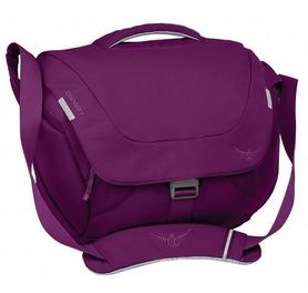 Сумка городская Osprey Flap Jack Courier Twilight 17 л фиолетовая