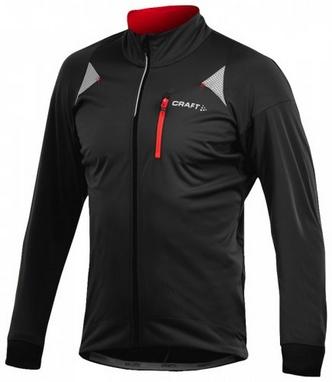 Велокуртка мужская Craft PB Storm Jacket черная