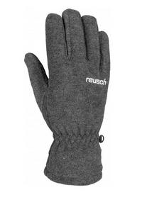 Распродажа*! Перчатки горнолыжные Reusch Basic серые - 8