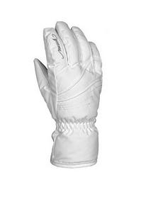 Перчатки горнолыжные женские Reusch Malina белые