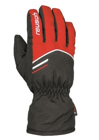 Перчатки горнолыжные подростковые Reusch Bendix R-TEX XT Junior красные