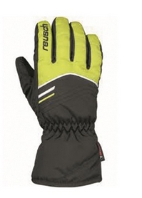 Перчатки горнолыжные подростковые Reusch Bendix R-TEX XT Junior зеленые