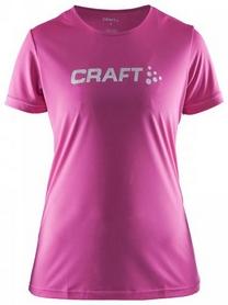 Термофутболка женская Craft Prime Logo Tee Wmn розовая