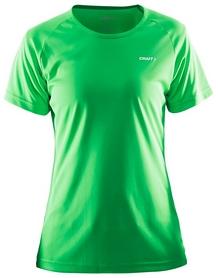 Термофутболка женская Craft Prime Tee Wmn зеленая