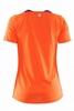 Футболка женская Craft Joy SS Shirt Wmn оранжевая - фото 2