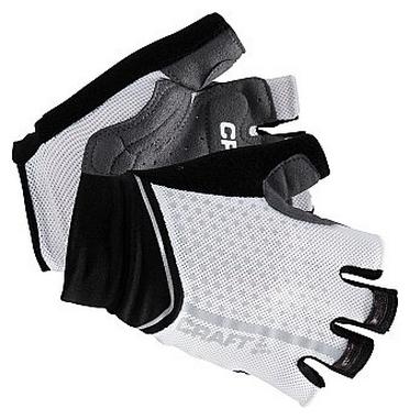 Велоперчатки женские Craft Glow Glove Black/White
