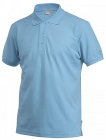 Футболка мужская Craft Polo Shirt Pique Classic Aqua