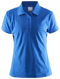 Футболка женская Craft Polo Shirt Sweden Blue