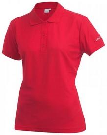 Футболка женская Craft Polo Shirt Bright Red