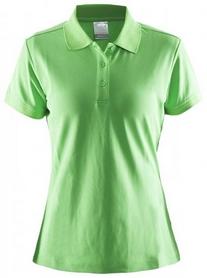 Футболка женская Craft Polo Shirt Craft Green