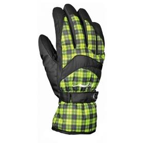 Перчатки горнолыжные женские Reusch Nuri R-TEXXT black/bright green