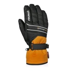 Перчатки горнолыжные мужские Reusch Powderstar R-texxt orng popcicle/blасk