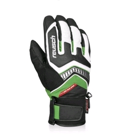 Перчатки горнолыжные мужские Reusch Tyron R-texxt white/ green