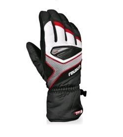 Перчатки горнолыжные мужские Reusch Killian R-texxt black/fire red