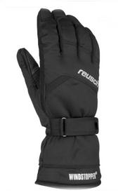 Перчатки горнолыжные мужские Reusch Wilmont Windstopper черные