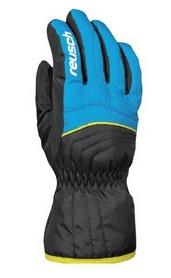Перчатки подростковые горнолыжные Reusch Aron Junior dresden blue/black