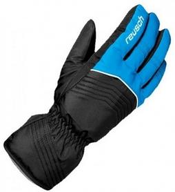 Перчатки подростковые горнолыжные Reusch Bero R-TEXXT Junior imper blue/black
