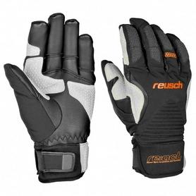 Распродажа*! Перчатки горнолыжные мужские Reusch Cerro Torre черные, размер - 9