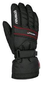 Перчатки горнолыжные мужские Reusch Powderstar R-tex xt black/fire red