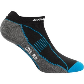 Носки мужские Craft Cool Run Shaftless Sock черные