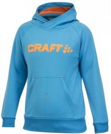 Толстовка Craft Stretch Hood J голубая