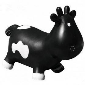 Фото 1 к товару Прыгун-коровка Kidzzfarm Бетси с насосом черный