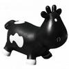 Прыгун-коровка Kidzzfarm Бетси с насосом черный - фото 1