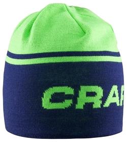 Шапка спортивная унисекс Craft Logo Hat green