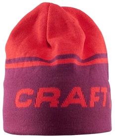 Шапка спортивная унисекс Craft Logo Hat red