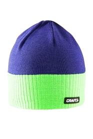 Шапка спортивная унисекс Craft Bormio Hat бирюзовый
