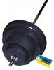 Скамья со стойкой для штанги Newt ProGym + Штанга наборная Newt Rock 72 кг - Фото №8