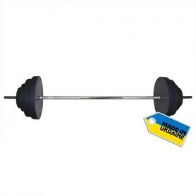 Фото 7 к товару Скамья со стойкой для штанги Newt ProGym + Штанга наборная Newt Rock 107 кг