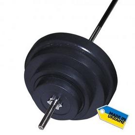 Скамья со стойкой для штанги Newt ProGym + Штанга наборная Newt Rock 107 кг - Фото №8