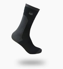 Носки водонепроницаемые унисекс Dexshell Coolvent-new черно-серые