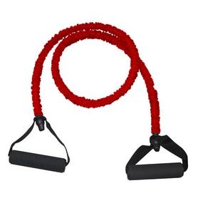 Эспандер для фитнеса трубчатый Rising (6 х 12 х 1200 мм) красный