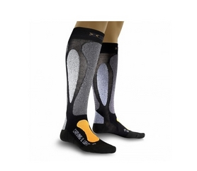 Термоноски лыжные унисекс X-Socks Carving Ultralight black-orange