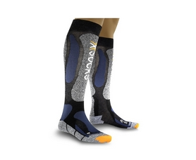 Термоноски лыжные унисекс X-Socks Ski Performance anthracite-avio
