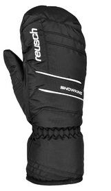 Перчатки горнолыжные мужские Reusch Snowmaster Mitten black/white