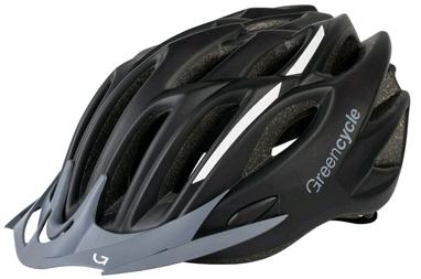 Велошлем Green Cycle Rock black
