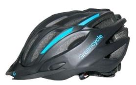 Велошлем Green Cycle Rock blue